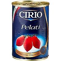 Cirio Peeled Plum Tomatoes 400 g (Pack of 12)