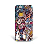 For iPhone 6 plus + iPhone 6s plus + Phone Back Case Hard Cover Custom Personalised Trendy Style Christmas Gift Present Modern Design Protective Plastic UK Brand Appfix Modern Art Old School Electronics