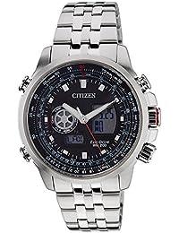 Citizen Analog-Digital Black Dial Men's Watch - JZ1061-57E