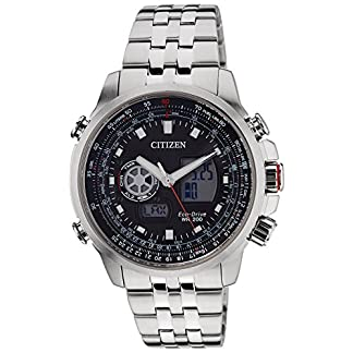 Citizen Analog-Digital Black Dial Men's Watch – JZ1061-57E