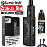 E Zigarette Starter Set Kangertech 60W 2200mAh Subox Mini V2 OLED Screen Verdampfer 2mL NCOCC...