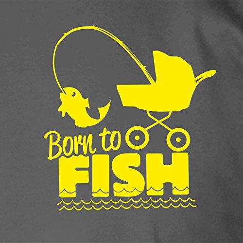 Born to fish - Herren T-Shirt Orange