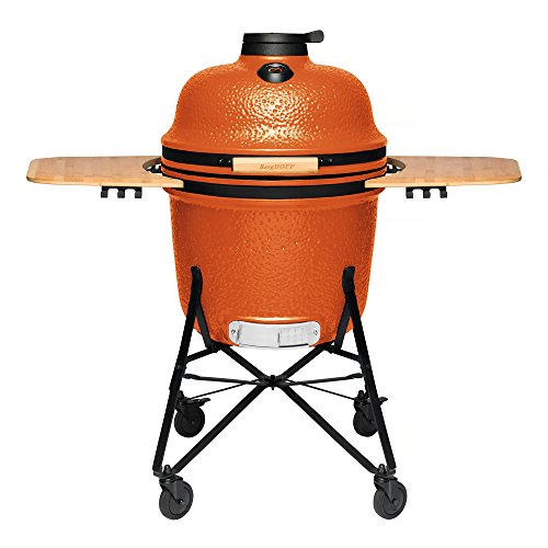 BergHOFF Ceramic BBQ and Oven, Bright Orange, Large