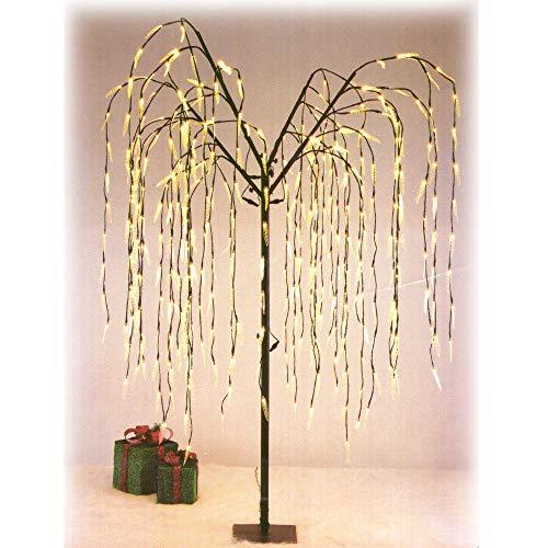 Weihnachstbeleuchtung Weihnachtsdekoration Weidenbaum 228 LED warmweiß 85cm hoch Indoor Outdoor IP 44