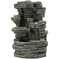 Zen Luz SCF 150 - Fontana Gran Cañón, Piedra, 19 x 16 x 28 cm, Color gris