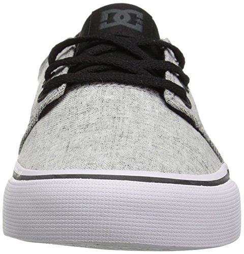 DC TRASE TX SE J SHOE PRB, Low-Top Sneaker donna Black/Charcoal
