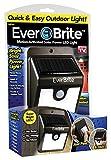 Ever Brite BRITE-MC12/4 Ever Brite Motion Activated LED Solar Light, Black by EverBrite