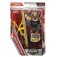 WWE Elite Serie 52 wrestling action figure - Marrone strowman con accessori per Statuetta giocattolo - Serie Elite 52 WWE Wrestling Action Figure - Braun Strowman con accessori per Figurine giocattolo