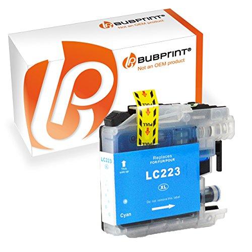 Preisvergleich Produktbild Druckerpatrone Tinten-Patrone Cyan kompatibel für Brother LC-223 XXL LC223 LC-225 mit Chip für Brother DCP-J4120 DW,Brother MFC-J4420 DW, MFC-J4425 DW, MFC-J4620 DW, MFC-J4625 DW, MFC-J5320 DW, MFC-J5600, MFC-J5620 DW, MFC-J5625 DW, MFC-J5720 DW.
