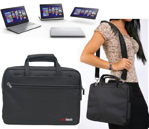 Navitech Laptop Bag Schwarz SONY Vaio Fit 11