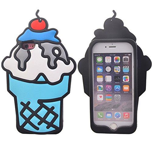 """COOLKE Mode 3D Style Cartoon Gel Soft silicone Coque Housse étui Case Cover Pour Apple iPhone 6s Plus / 6 Plus (5.5"""") - 020 012"""