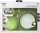 OXO Tot 4-Piece Feeding Set (Green)