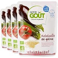 Good Goût - BIO - Ratatouille de Quinoa dès 6 Mois 190 g - Lot de 4