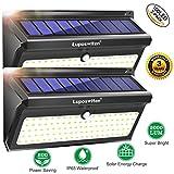 100 LED Foco Solar,Luposwiten Lampara Solar Exterio con Sensor de Movimiento Luces Solares para Jadines,...
