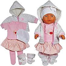 Puppenkleidung passend für 43cm Baby Born handgefertigte Kleidung 02 Kleidung & Accessoires