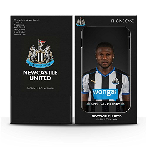 Officiel Newcastle United FC Coque / Etui Gel TPU pour Apple iPhone 6S+/Plus / Pack 25pcs Design / NUFC Joueur Football 15/16 Collection Mbemba