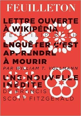 Feuilleton, N° 6, Hiver 2013 : de Gérard Berréby,Collectif ( 10 janvier 2013 )