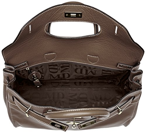 Mac Douglas Damen Pyla Buni S Handtasche, 17.5 x 26 x 40.5 cm Gris (Gris Flanelle)