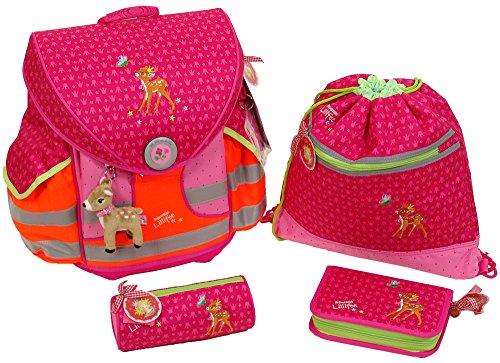 Prinzessin Lillifee Fairy Ball Ergo Style Plus Schulranzen-Set, fluoreszierende, Modell # 11777