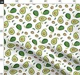 Avocado, Sommer, Obst, Gemüse, Grün, Hawaii Stoffe -