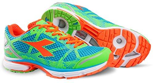 Chaussure Running Homme Diadora N 61003Brill Blue/Flash Green *