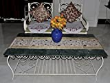 #7: Beige Color Designer Silk Table Runner / Kitchen Dining Table Cover Decorative 60 X 16 Inch