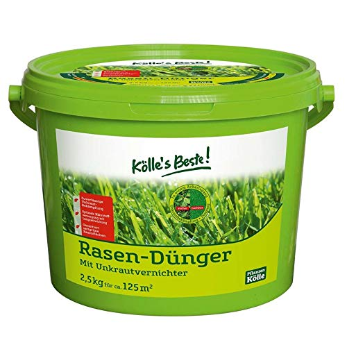 Kölle's Beste Rasendünger mit Unkrautvernichter, 2,5 kg