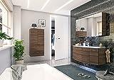 PELIPAL Cassca 3 tlg. Badmöbel Set/Waschtisch / Unterschrank/Spiegelschrank / Comfort N