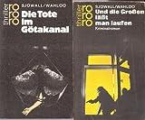 rororo-Krimiauswahl: Und die Großen läßt man laufen; Die Töte im Götakanal; Der Mann, der sich in Luft auflöste; Der Mann auf dem Balkon (4 Bände 1972-82) - Maj Sjöwall