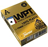 Fournier World Poker Tour Baraja De Cartas Profesional Calidad Casino, Color Rojo/Azul (451141)