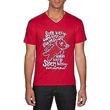 Touchlines Soft Kitty Purr, Camiseta para Hombre