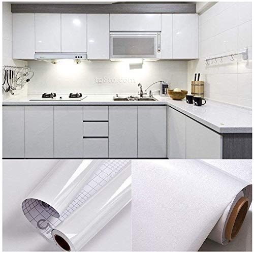 SOLDGOOD 5.5M X 0.61M PVC Back Sticky Self Adhesive Kitchen Wallpaper Rolls  Stickers For