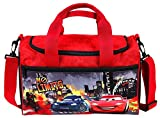 Unbekannt Scooli CADK7252 Sporttasche Disney Cars, ca. 35 x 16 x 24 cm
