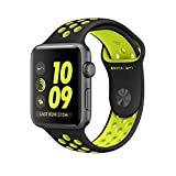 Apple Watch 38mm Nike+ (Series-2) Space Gray Aluminum Case with Black/Volt Nike Sport Band