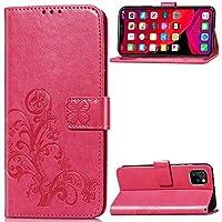 JESD050056 - Funda de piel sintética tipo cartera para iPhone 11 Pro Max (16,5 cm), color rosa