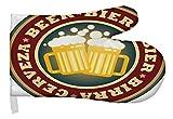 LEotiE SINCE 2004 Ofen Topf Handschuh Nostalgie Bier Bier Prost Bedruckt