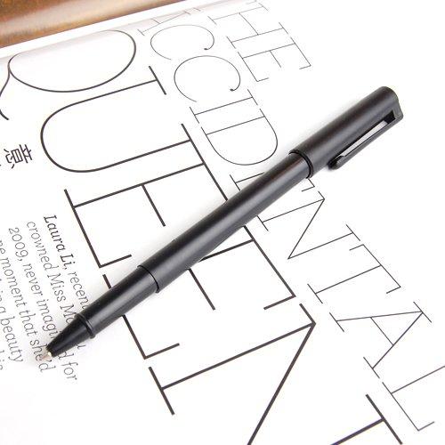magideal-black-plastic-magic-trick-ball-pen-thru-bill-penetration-toy