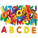 KABEER ART Toys Magnetic Learning Alphabets And Numbers - Educational Magnet Set For Kids