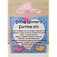 Social Worker's Survival Kit -A Unique Fun Novelty Gift & Keepsake !