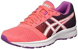 Asics Patriot 8, Damen Laufschuhe für das Training auf der Straße, Mehrfarbig (Diva Pink/White/Orchid), 38 EU