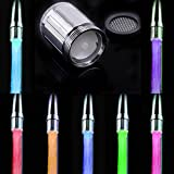 #5: Tomtopp Fashion LED Water Stream Glow Faucet Lighting Tap Home Tool Multi-Colors
