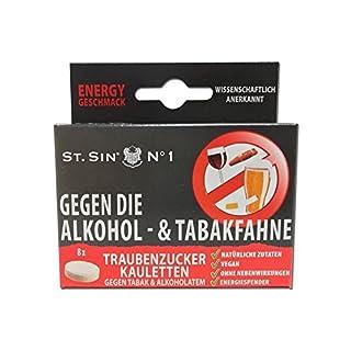 ST. SIN N°1 Display mit 12 Schachteln (=96 Anwendungen) gegen die ALKOHOLFAHNE und gegen TABAKATEM