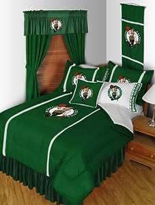 Boston Celtics NBA Living Parure de lit double Couette-feuilles