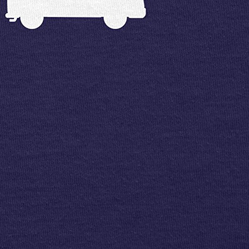 Texlab Bulli T1 Evolution - Herren T-Shirt Navy