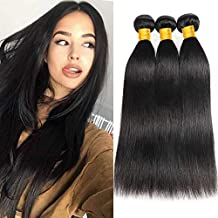 73b6ef1521ef Ur Beautiful 8A Mèches Brésiliennes lot 3 boucles Bresilien Tissage Cheveux  Naturel bresilienne tissage bresilienne lisse