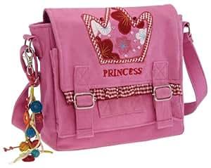 """Kindertasche Kindergarten-Tasche für Mädchen """"princess"""" rosa"""