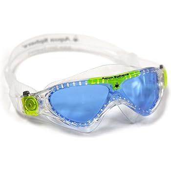 ffbeba03e4e Aqua Sphere Moby Kids Swim Goggles w  Blue Tint- Clear Great for ...
