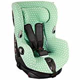 Housse de siège auto pour Maxi-Cosi Axiss – Vert menthe avec étoiles