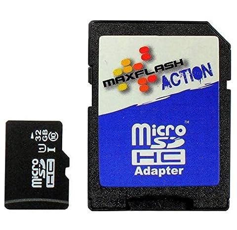 32Go Carte mémoire pour Samsung Galaxy A5 SM-A500 (micro SD)