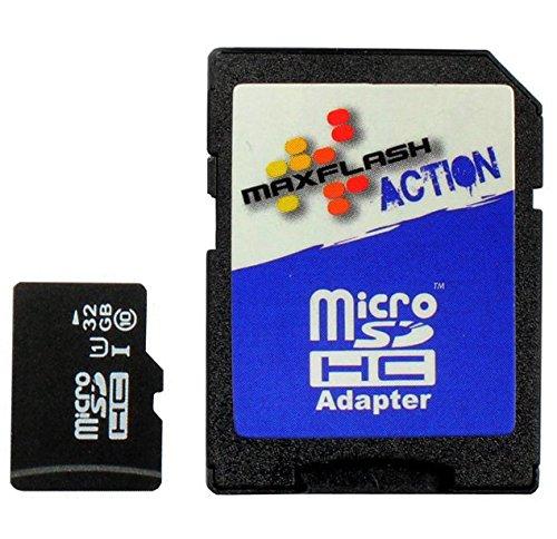 32GB microSD Speicherkarte für Nikon 1 J4, Class 10, unterstützt Ultra HD; (J4 Nikon Für Speicherkarte)